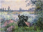 BY THE SEINE<br>& Scottish Terrier