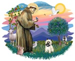 St. Francis #2 &<br> Cairn Terrier (#14)