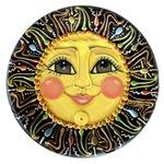 Copy of Sun Face #2 - Black Border