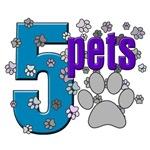 5 Pets Logo