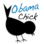 Obama Chick T-shirts, Tote Bags, Apparel