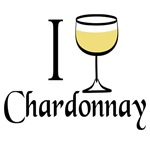 I Love Chardonnay T-shirts and Gifts