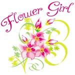 Paradise Flower Girl Tee Shirts & Keepsakes
