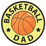 Basketball Dad T-shirts and Gifts