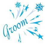 Winter Groom T-shirts and Wedding Favors