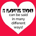 Many Ways to Show Love - Red