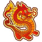 Red Chinese Dragon T-Shirts & Gifts