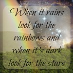 When It Rains Look for the Rainbow and When It's D