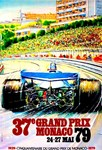 Monaco 1979 Grand Prix Auto Racing