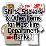 Items by Fire Department Rank