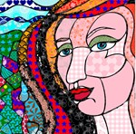 Abstract Woman Designs and More Products