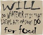Homeless Liberal Arts Major Sign