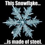 Snowflake of Steel