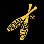 Indian Clubs with lettering DG