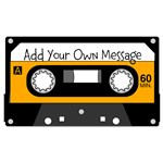 Personalized Cassette Tape