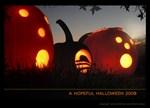 Obama Logo Halloween Hope Pumpkin