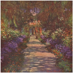 Garden Path by Charles Monet 1902