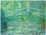 The Japanese Bridge over Water Lilies