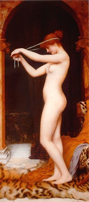 Godward - Venus Binding Her Hair