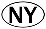 NEW YORK OVAL STICKERS & MORE!