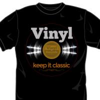 Vinyl on Black
