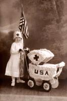 1917 Patriotic Nurse