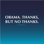 Obama. Thanks, But No Thanks