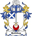 Halliday Coat of Arms, Family Crest