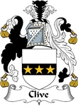 Clive Family Crest