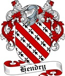 Hendry Family Crest, Coat of Arms