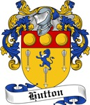 Hutton Family Crest, Coat of Arms
