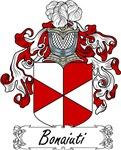 Bonaiuti Family Crest, Coat of Arms