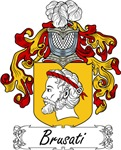 Brusati Family Crest, Coat of Arms