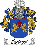 Santucci Family Crest, Coat of Arms