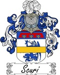 Scuri Family Crest, Coat of Arms
