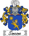 Simeone Family Crest, Coat of Arms