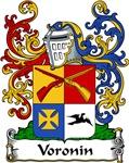 Voronin Family Crest, Coat of Arms