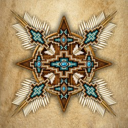 Native American Style Mandala 26