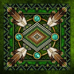 Native American Style Tapestry 2