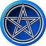Blue Pentacle