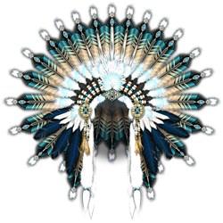 Native War Bonnet 02