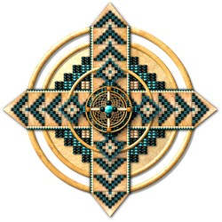 Native American Mandala 06