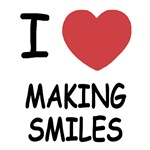 I heart making smiles