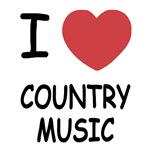 I heart country music