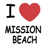 I heart mission beach
