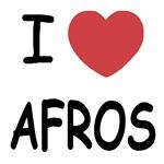 I heart afros