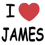 I heart James