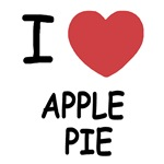 I heart apple pie