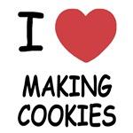 I heart making cookies