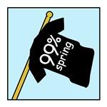 99% spring tshirt flag